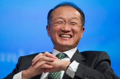 Джим Ён Ким, президент Всемирного банка. Фото: JIM WATSON/AFP/Getty Images