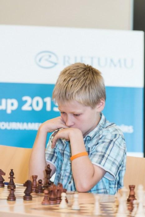 Международный шахматный турнир в этом году прошёл в Риге. Фото предоставлено пресс-службой банка Rietumu