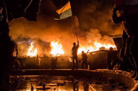 В ходе беспорядков в Киеве пострадали более 200 человек. Фото: Brendan Hoffman/Getty Images