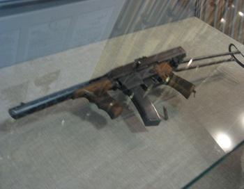 Первый пистолет-пулемёт Калашникова. Фото: V Smoothe/commons.wikimedia.org