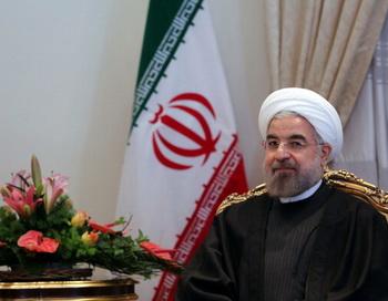 Президент Ирана Хасан Роухани. Фото: ATTA KENARE/AFP/Getty Images