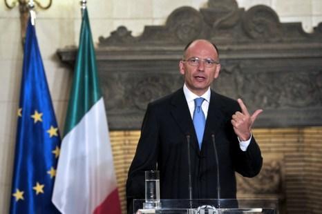 Премьер-министр Италии Энрико Летта. Фото: ARIS MESSINIS/AFP/Getty Images
