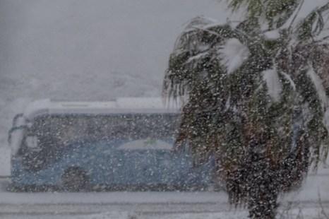 В Израиле прошёл сильный снегопад, низменности затопило наводнениями, 35 000 семей остались без электроэнергии, 2 человека погибли. Фото: Хава Тор/Великая Эпоха (The Epoch Times)