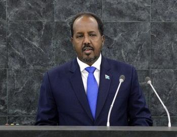 Президент Хасан Шейх Мохамуд. Фото: Justin Lane-Pool/Getty Images