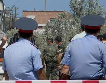 В Дагестане введён режим контртеррористической операции. Фото: NATALIA KRAINOVA/AFP/Getty Images