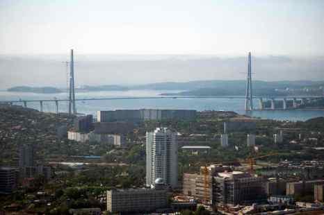 Владивосток. Фото: MARTIN BUREAU/AFP/GettyImages