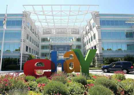 Сан-Хосе. Штаб-квартира  eBay. Фото: Justin Sullivan/Getty Images
