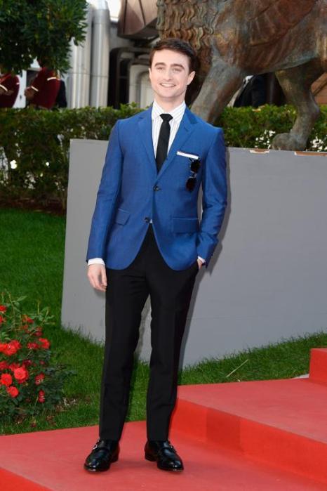 Актёр Дэниел Рэдклифф прибыл на юбилейный 70-й Венецианский международный кинофестиваль 1 сентября 2013 года в Венецию, Италия. Фото: Pascal Le Segretain/Getty Images