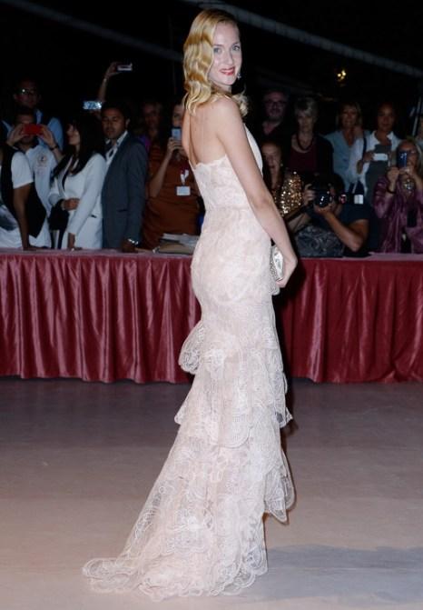 Актриса Ева Риккобоно посетила открытие юбилейного 70-го Международного кинофестиваля в Венеции 28 августа 2013 года на острове Лидо (Италия). Фото: Pascal Le Segretain/Getty Images