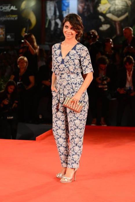 Клаудиа Потенца прибыла на премьеру фильма «Дитя божье» (Child of God) 70-го Венецианского международного кинофестиваля 31 августа 2013 года Венеция, Италия. Фото: Pascal Le Segretain/Getty Images