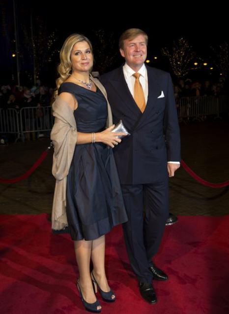 Король Виллем-Александр и королева Максима посетили 30 ноября в Гааге торжества по случаю празднования 200-летия Королевства Нидерландов. Фото: Michel Porro/Getty Images