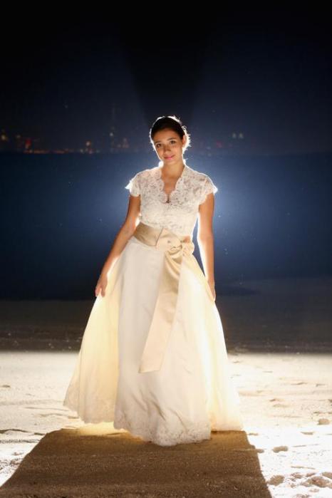 Традиционный исторический бал королевы Шарлотты в этом году собрал самых состоятельных невест в Дубае 17 ноября 2013 года. Фото: Christopher Furlong/Getty Images