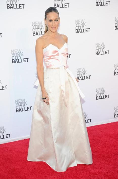 Сара Джессика Паркер прибыла на открытие балетного сезона в Нью-Йорке 19 сентября 2013 года. Фото: Jamie McCarthy/Getty Images