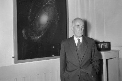 Ян Оорт, профессор астрономии в Лейденском университете, 12 мая 1961 года. Фото: Joop van Bilsen