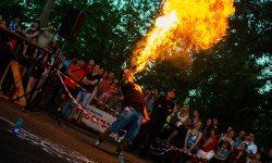 Огненный концерт, Иркутск, огонь, Юность, Стань ближе к Солнцу