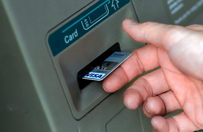 Платёжная система, карта, банкомат, Visa