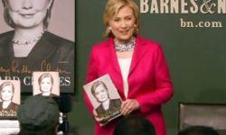 Хиллари Клинтон представила новые мемуары в Нью-Йорке