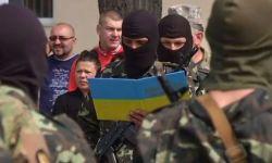 Добровольцы в Киеве записались в батальон «Донбасс» и принесли клятву верности Украине