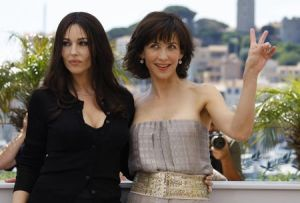 French actress Sophie Marceau and Italia