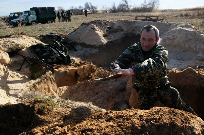 Порошенко, Украина, граница