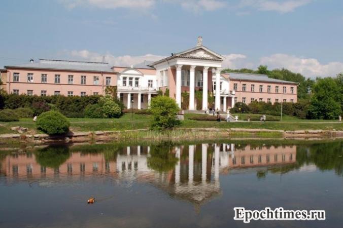 Москва, ботанический сад, благоустройство