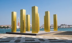 Венеция, XlV Архитектурная бьеннале, Хейнц Мак, «Небо над девятью колоннами»