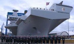 Елизавета II дала своё имя самому большому военному кораблю Великобритании