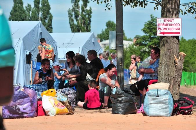 МЧС, беженцы