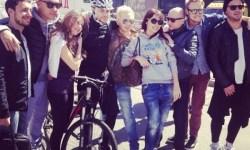 велосипедисты, велосипед, знаменитости