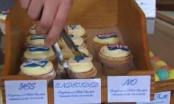 Шотландский перкарь проводит собственный референдум о независимости с помощью капкейков