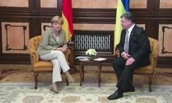 Меркель пообещала Украине кредит на 500 млн евров на восстановление Донбасса