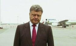 Пётр Порошенко заявил о вторжении российских войск на Украину