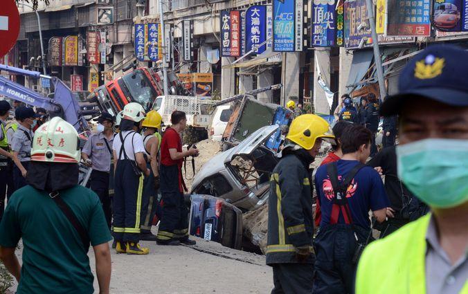 Тайвань, газ, взрыв