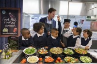 школы, Великобритания, школьное питание