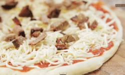 пицца, домашняя пицца, рецепт