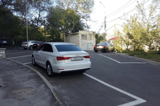 автомобиль, парковка
