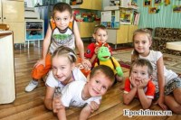 Детсад, игрушки, дети