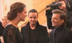 Герцогиня Кембриджская Кэтрин пообщалась с музыкантами One Direction