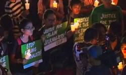 Вечер памяти о 32 расстрелянных журналистах прошёл в Маниле