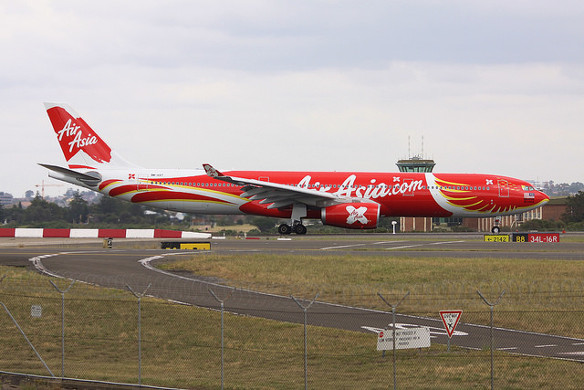 пропавший рейс Air Asia