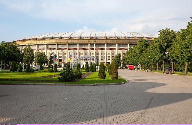 Москва, стадион «Лужники», видеокамеры, ЧМ-2018, безопасность