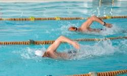 плавание, соревнование