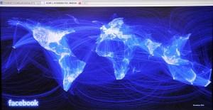 Фейсбук в мире