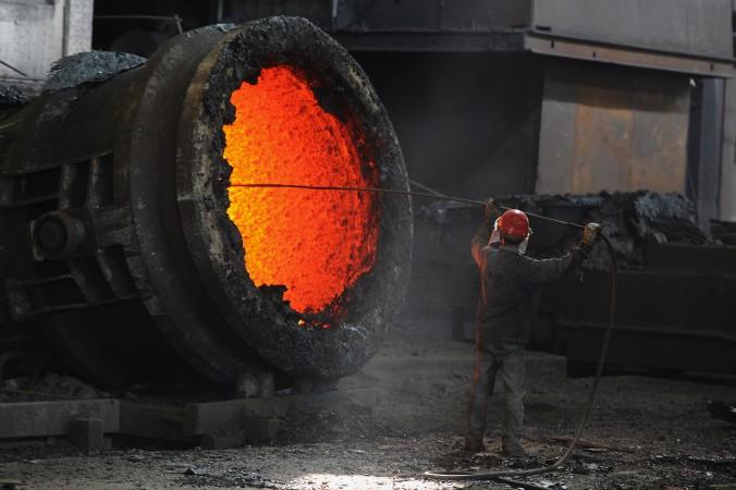 литьё стали в Китае