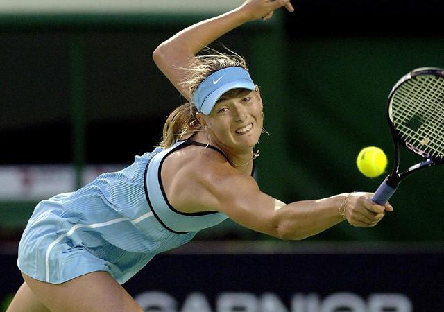 Российская теннисистка Мария Шарапова. Фото: Morton Lin/flickr.com