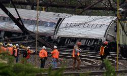 США, поезд Amtrak, крушение