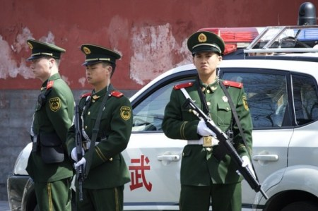 китайская полиция
