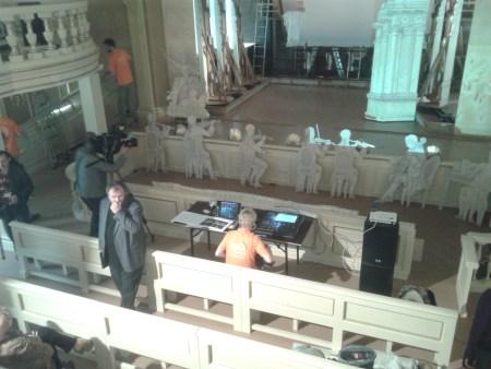 Оперная зала, подготовка к открытию. Фото: Татьяна Петрова/Великая Эпоха