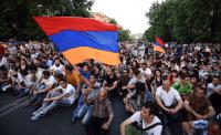 Армения, Ереван, акция протеста