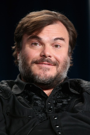 PASADENA, CA - JANUARY 08:  Actor Jack Black speaks onstage during 'The Brink' panel at the HBO portion of the 2015 Winter Television Critics Association press tour at the Langham Hotel on January 8, 2015 in Pasadena, California.  (Photo by Frederick M. Brown/Getty Images)